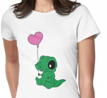 Baby Crocodile Womens Fitted T-Shirt