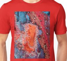 Abstract Machine Embroidery Unisex T-Shirt