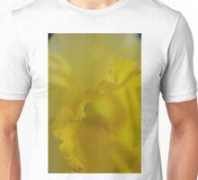 Daffodil Petal Detail Macro Unisex T-Shirt