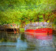 The Longboats - Dublin, Ireland by Mark Richards