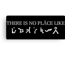 Stargate - There Is No Place Like Earth Canvas Print