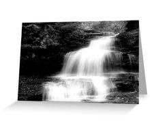 Onondaga Falls_Ricketts Glen Greeting Card