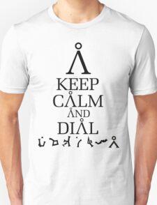 Stargate SG1 - Keep Calm and Dial Earth T-Shirt