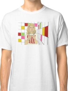 Debbie with coloured blocks Classic T-Shirt