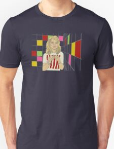 Debbie with coloured blocks Unisex T-Shirt