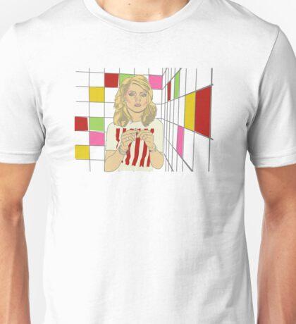 Debbie with coloured blocks Unisex T-Shirt