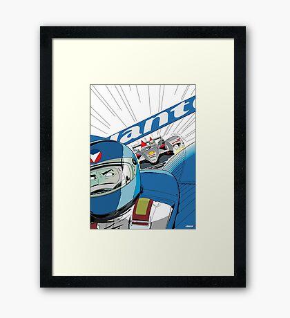 Michel Vaillant Framed Print