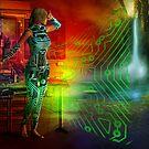 techno future by shadowlea