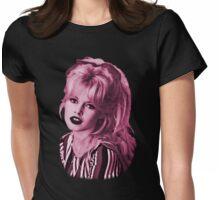 brigitte bardot - pink kitten Womens Fitted T-Shirt