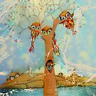 tree of love owls by © Cassidy (Karin) Taylor