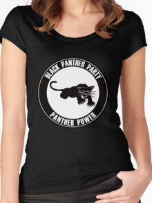 the party Women's Fitted Scoop T-Shirt