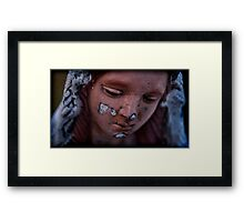 her loss was ingracious Framed Print