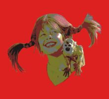 pippi longstocking! Kids Tee