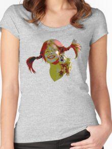pippi longstocking! Women's Fitted Scoop T-Shirt