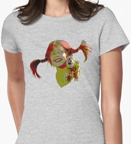 pippi longstocking! Womens Fitted T-Shirt