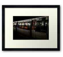 Going where it takes me Framed Print