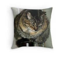 Zoe. Throw Pillow
