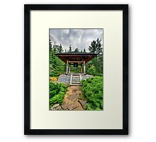 Japanese Temple Bell Framed Print