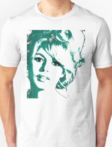 Brigitte Bardot 1960's face Unisex T-Shirt