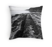 Montague Beach - Galiano Island Throw Pillow
