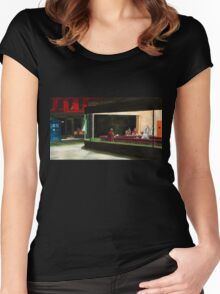 Night-Docs tee Women's Fitted Scoop T-Shirt