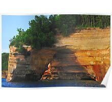Pictured Rocks National Shoreline / Petit Portal Poster