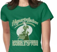 Hyperinflation Womens Fitted T-Shirt