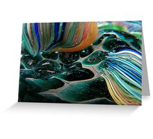 Abstract Seascape #11 Greeting Card