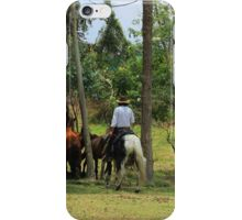 Horse Round Up iPhone Case/Skin