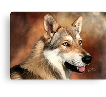 SaarloosWolfdog Canvas Print