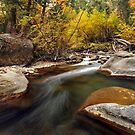 American Fork River, Curve in Current by Ryan Houston