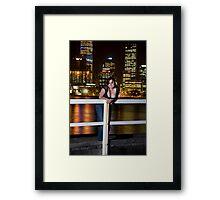 kristy 7 Framed Print