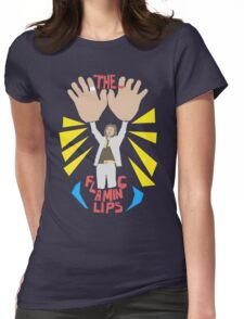 The flaming lips - big hands Womens Fitted T-Shirt