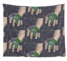 Death of a small planet Wall Tapestry