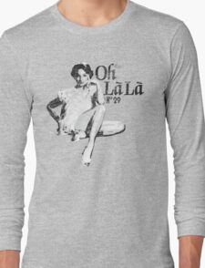 Oh La La? Oh La La? OH LA LA?! Back to the Future 2 Long Sleeve T-Shirt
