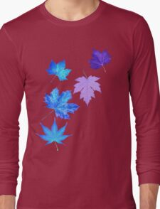 Nature - Inverted Leaf Long Sleeve T-Shirt