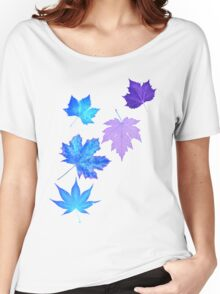 Nature - Inverted Leaf Women's Relaxed Fit T-Shirt
