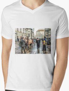 Fiaker stand at Stephansplatz Vienna Mens V-Neck T-Shirt