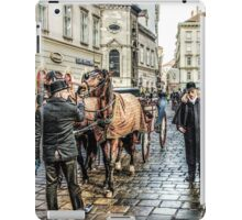 Fiaker stand at Stephansplatz Vienna iPad Case/Skin