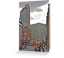 Architectural Confusion Greeting Card