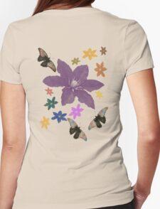 Clematis Butterfly T-Shirt T-Shirt