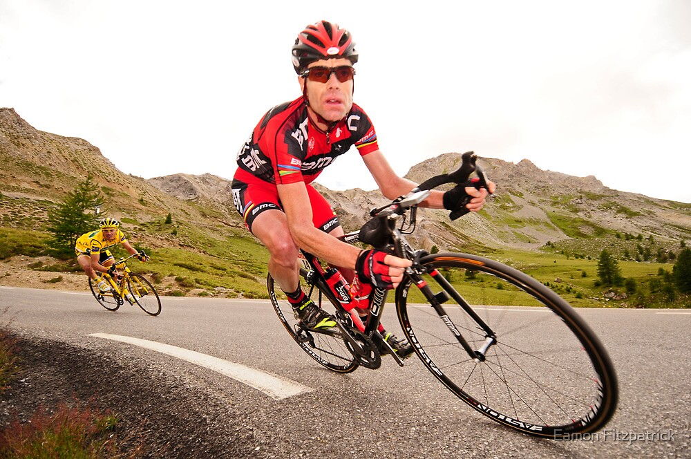 Cadel Evans by Eamon Fitzpatrick