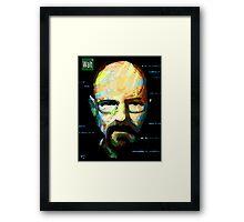 Walt. Framed Print
