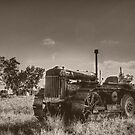 The Old Tractor by Rod Wilkinson