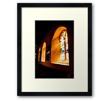 May the light come forth Framed Print