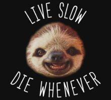 Live slow Die whenever by whereismypanda