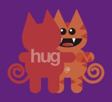 KAT HUG by peter chebatte