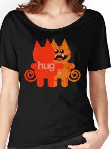 KAT HUG Women's Relaxed Fit T-Shirt