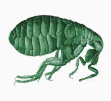 Friendly Green Flea Tee Baby Tee