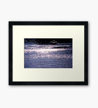 Silent Sorrow In Empty Boats (Genesis) Framed Print